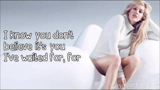 Ellie Goulding - Don't Need Nobody (Lyrics)