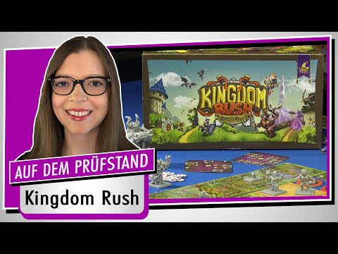 Spiel doch mal KINGDOM RUSH! - Brettspiel Rezension Meinung Test #378