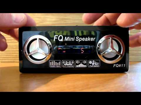 Mini USB Rechargeable MP3 Music Speaker with FM/SD/TF/USB