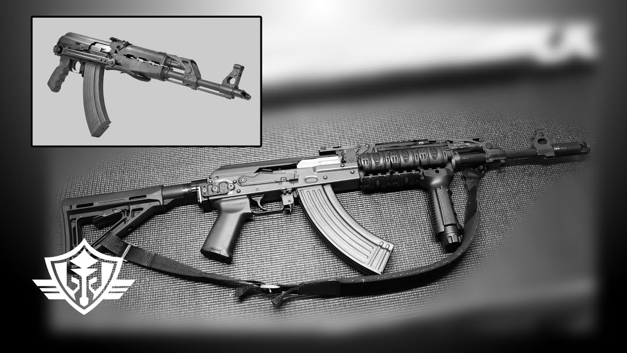 AK47 M70 Underfolder M4 Stock Conversion: Installing the Definitive Arms  UF-M4 Adapter by Adiga Armory