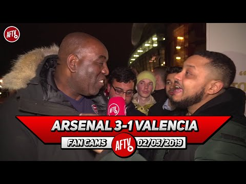 Arsenal 3-1 Valencia | Lets Focus On Europa League & Win A European Trophy! (Troopz)
