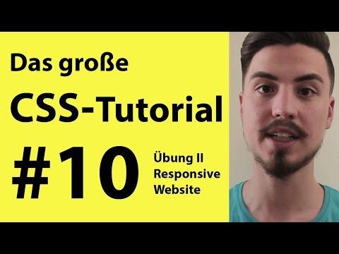 Eine Responsive Website Erstellen II CSS - HTML Tutorial | CSS Lernen Für Anfänger