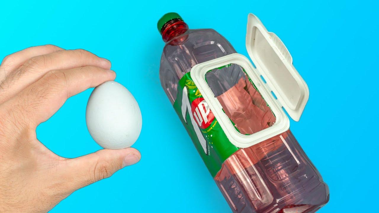 33 IDE DAN TRIK LUAR BIASA DENGAN BOTOL PLASTIK