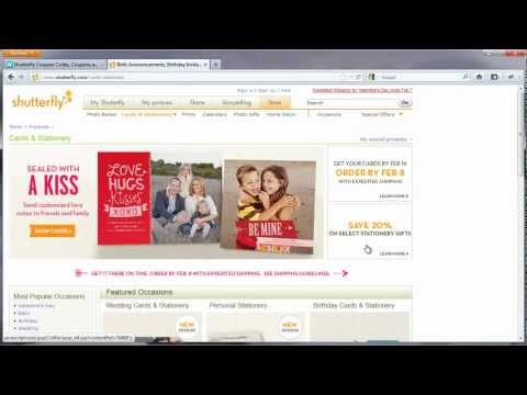 Current Shutterfly Coupon Codes - Get A Promo Code