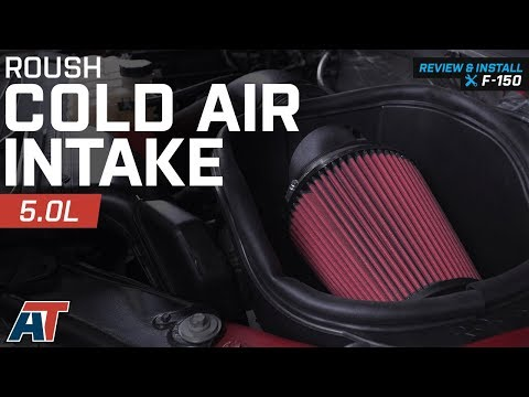 2015-2018 F150 Roush Cold Air Intake 5.0L Review & Install
