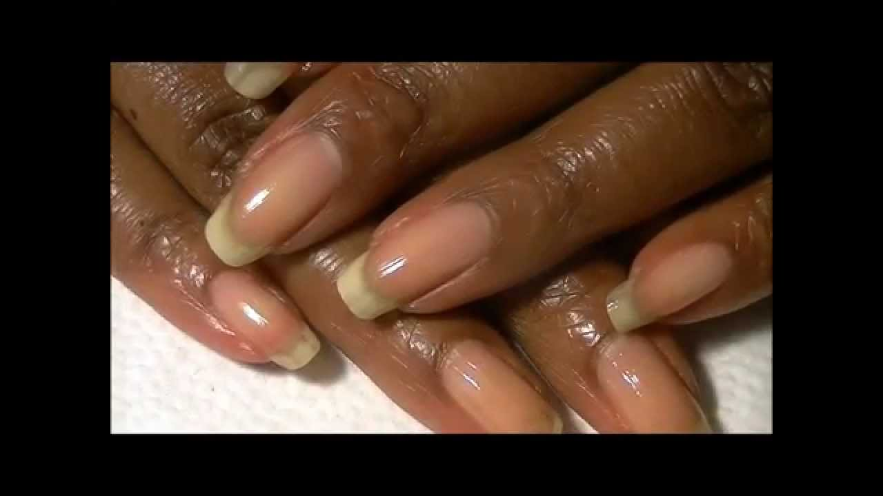 Natural/Organic Nail GROWTH Treatment - YouTube
