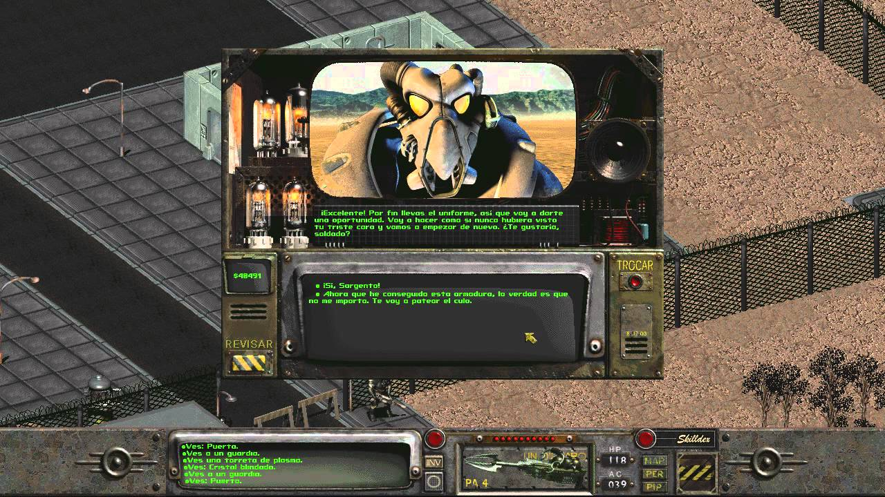 how to learn about navvaro fallout 2