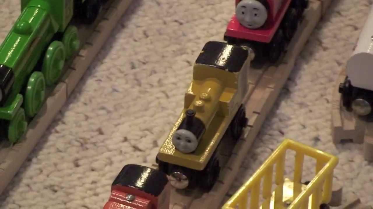 Milktankermedia S Thomas Wooden Railway Collection Youtube