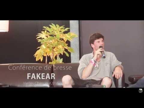 Conférence de presse   FAKEAR, le plus festivalier des artistes