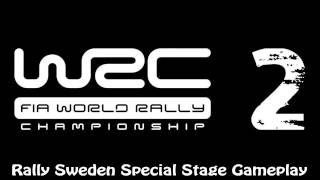 WRC 2 FIA World Rally Championship - Rally Sweden Special Stage Gameplay