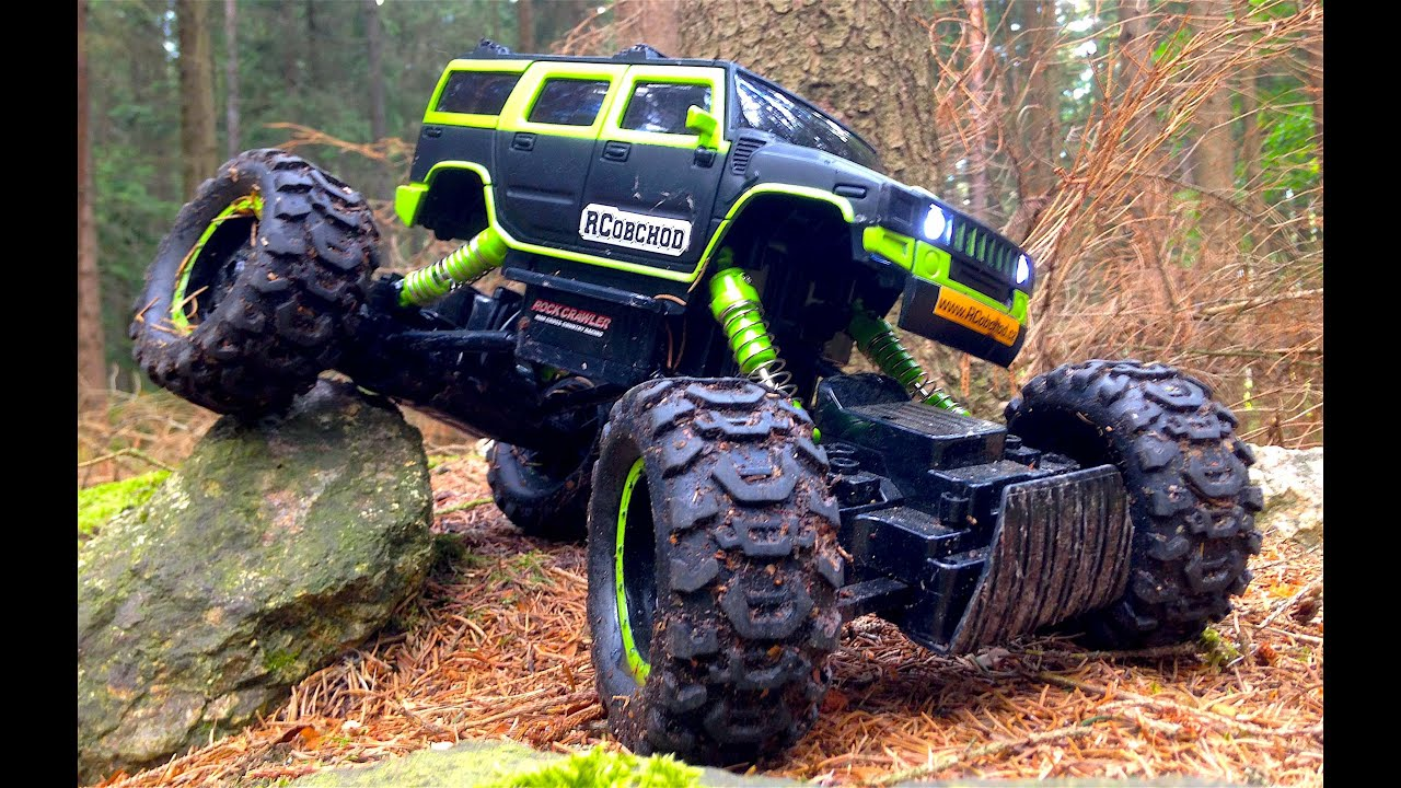 Rock Crawlers 4x4 : Rock crawler hummer rc trial youtube