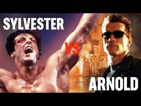 Sylvester Stallone vs. Arnold Schwarzenegger  Rotten Tomatoes