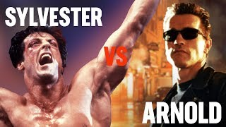 Sylvester Stallone vs. Arnold Schwarzenegger | Rotten Tomatoes