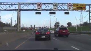 Québec Autoroute 25 (Trans-Canada Highway) and Lafontaine Tunnel, Montréal