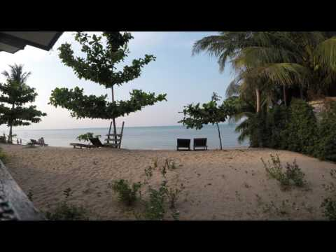 Koh Samui beach bungalow view 2017