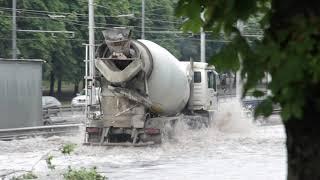 Потоп. Киев. Борщаговка. 27 июня 2019. 18+
