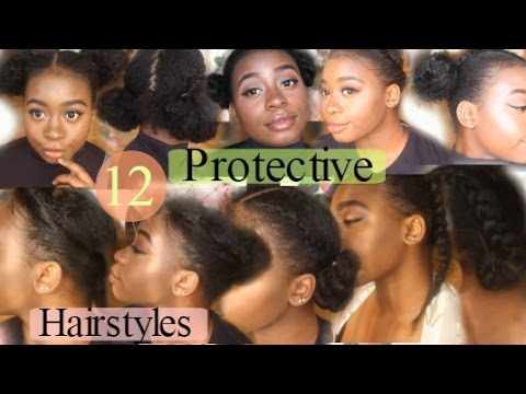 protective styles for hair 12 amp easy awesome protective hairstyles for 7041