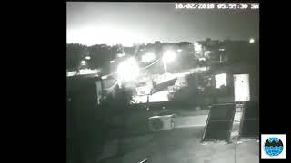 Видео падения израильского F-16 сбитого ПВО Сирии.