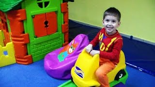 Kid Playing in the Indoor Playground thumbnail
