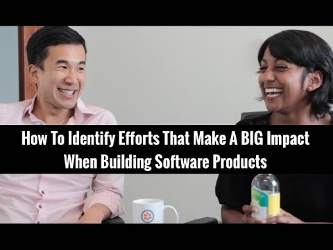 How to Identify Efforts that Make a Big Impact When Building Software Products | Edmond Lau