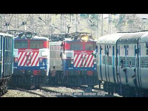 12967 Chennai - Jaipur SF Express : Journey between Nagpur - Itarsi Junction.