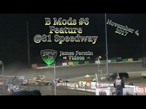 B Mods #27, Feature, 81 Speedway, 2017