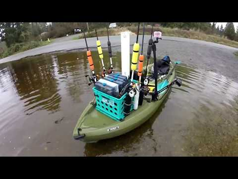How to setup the Lifetime Tamarack 10' Angler Kayak