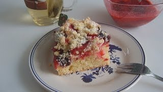 Сливовый пирог и варенье из сливы