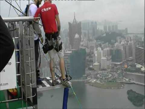 Macao Tower - World's Highest Bungy Jump
