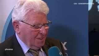 CSU-Parteitag: Einschätzungen von Prof. Heinrich Oberreuter am 19.01.19