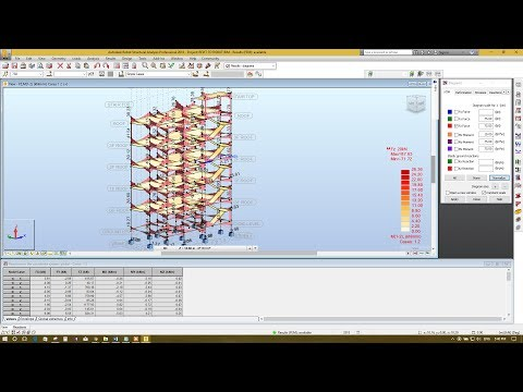 5. Analysis & Design in Autodesk Robot Structural Analysis 2018