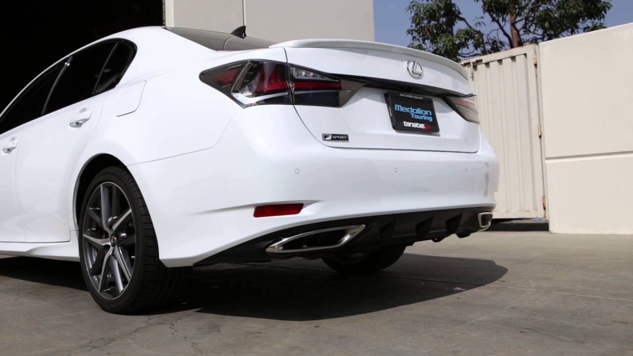 Lexus Is 350 >> Tanabe Medalion Touring Exhaust for 2016 Lexus GS 350 F ...