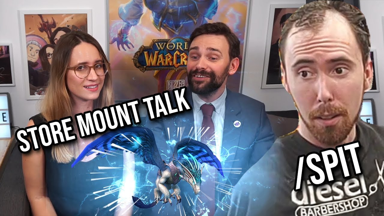 Asmongold Comments on Taliesin & Evitel Review Of Patch 8 2 (Store