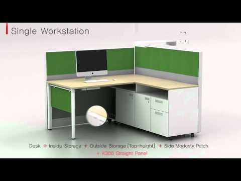 KOAS - Smart office furniture V6 system