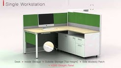 KOAS - Smart office furniture V6 system