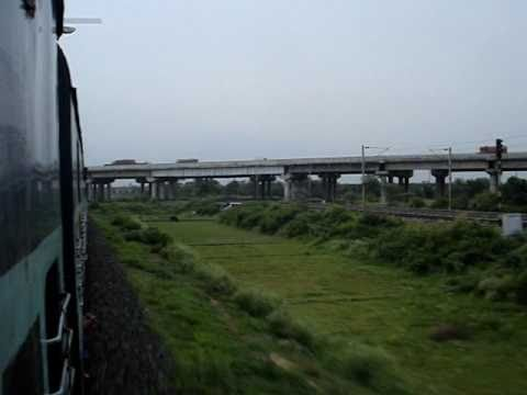 2345 Howrah Guwahati Saraighat Express Hits Top Speed At Saktigarh