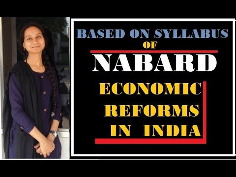 -NABARD-ECONOMIC REFORMS IN INDIA-|RBI|SSC|UPSC|STATE-PSC.BY-Sadhana Devi Chauhan