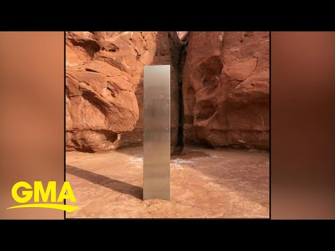 Mysterious-structure-disappears-from-Utah-desert-l-GMA