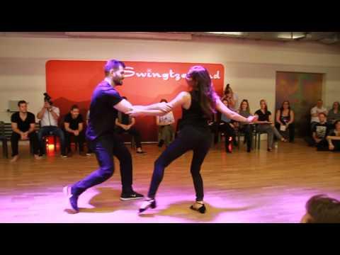 Ben Morris & Torri Zzaoui  Swingtzerland 2017 Champions Jack & Jill 1st Place