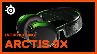 Introducing the SteelSeries Arctis 9X