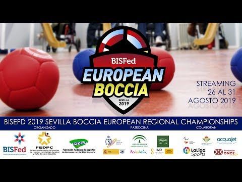 Boccia European Regional Championships - BISfed 2019 Sevilla