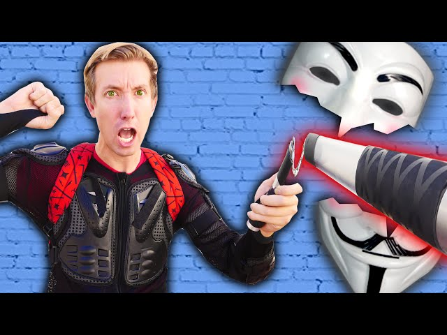 NINJA GADGETS MYSTERY BOX to Defeat PROJECT ZORGO Challenge Unboxing Haul (Found Top Secret Clues)