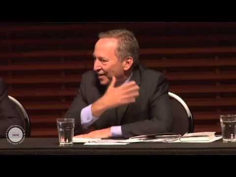 Larry Summers and John Taylor Debate April 4, 2012