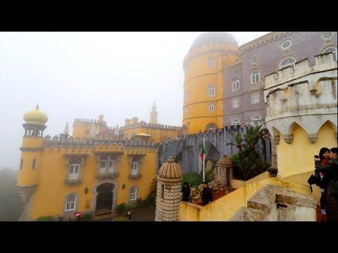 "#678 Sintra PORTUGAL ""PALACIO DE PENA"" The Palace of Pena - Lisbon Travel (6/15/2018) Lisboa"