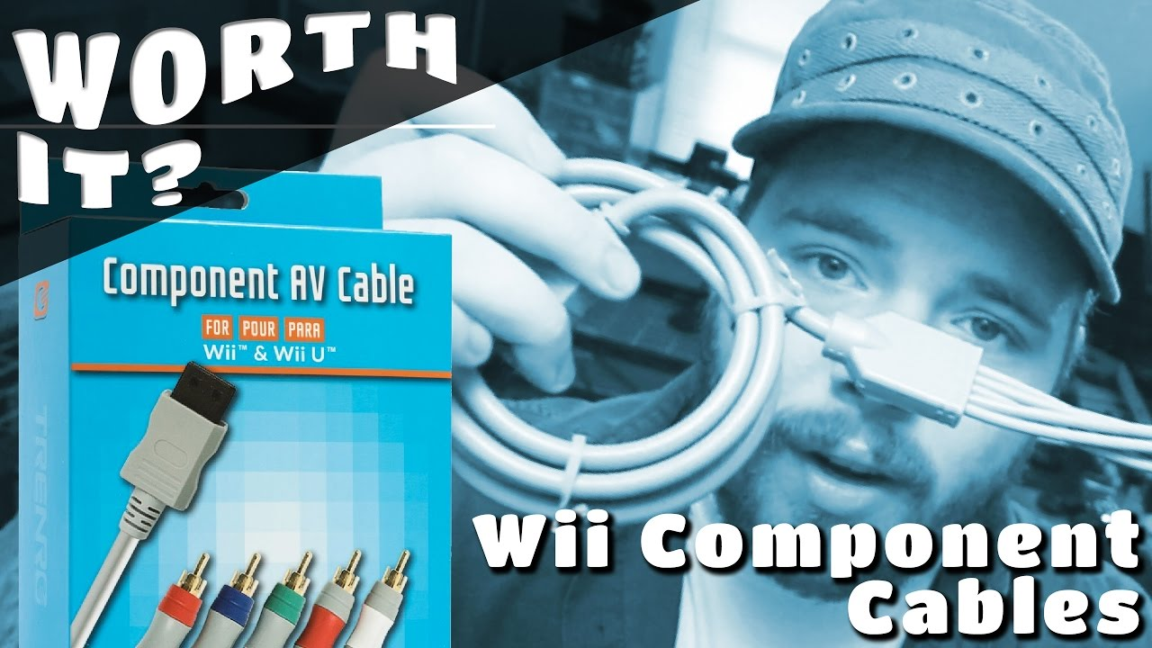 Wii Component Cables || Worth It? - YouTube