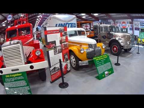 Walk though Tour I80 Truck Museum #156