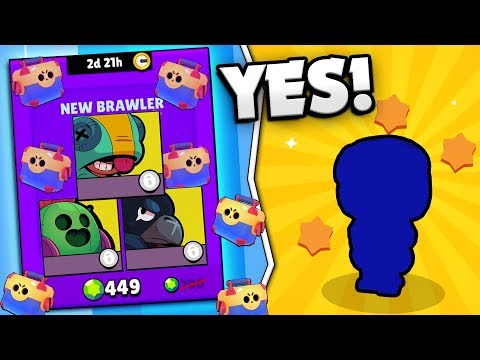 WE OPENED A NEW LEGENDARY BRAWLER! HUGE MEGA BRAWL BOX OPENING IN BRAWL STARS! LEON PUSH GAMEPLAY!
