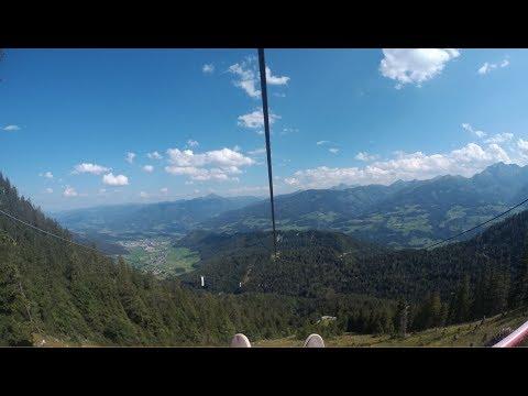 Zipline Stoderzinken - 120km/h Auf 4 Seilen Nebeneinander - Flug Des Adlers