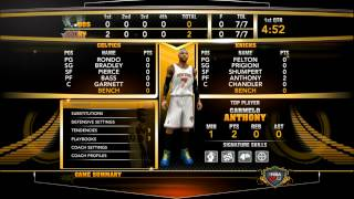 NBA2K13 Defensive Tips and using D PAD SETTINGS