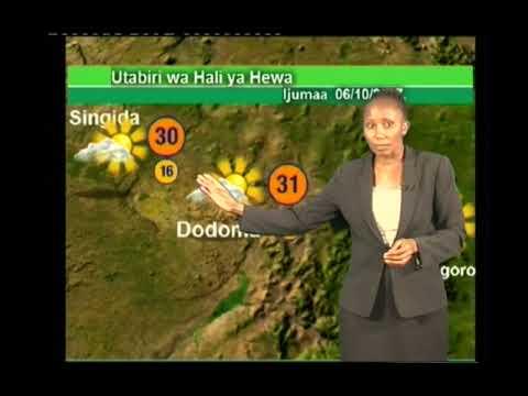 Tanzania Wether Forecast  05/10/2017